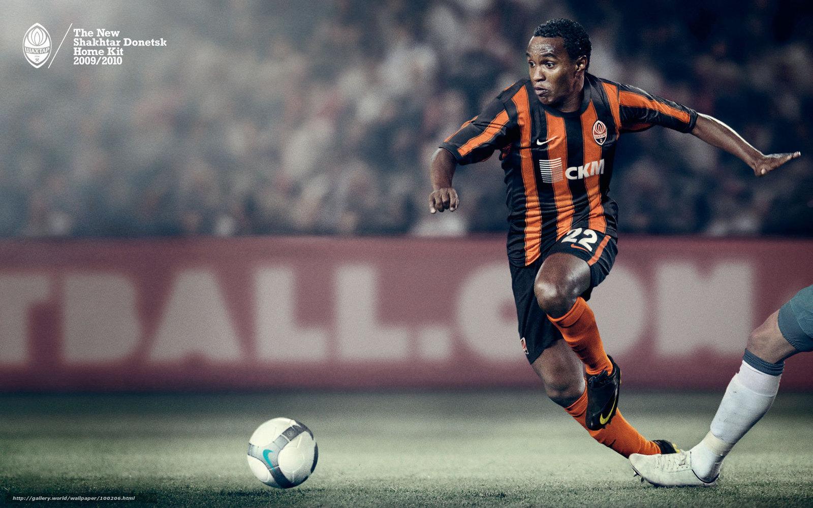 Download wallpaper FC Shakhtar Donetsk Luiz Adriano free desktop