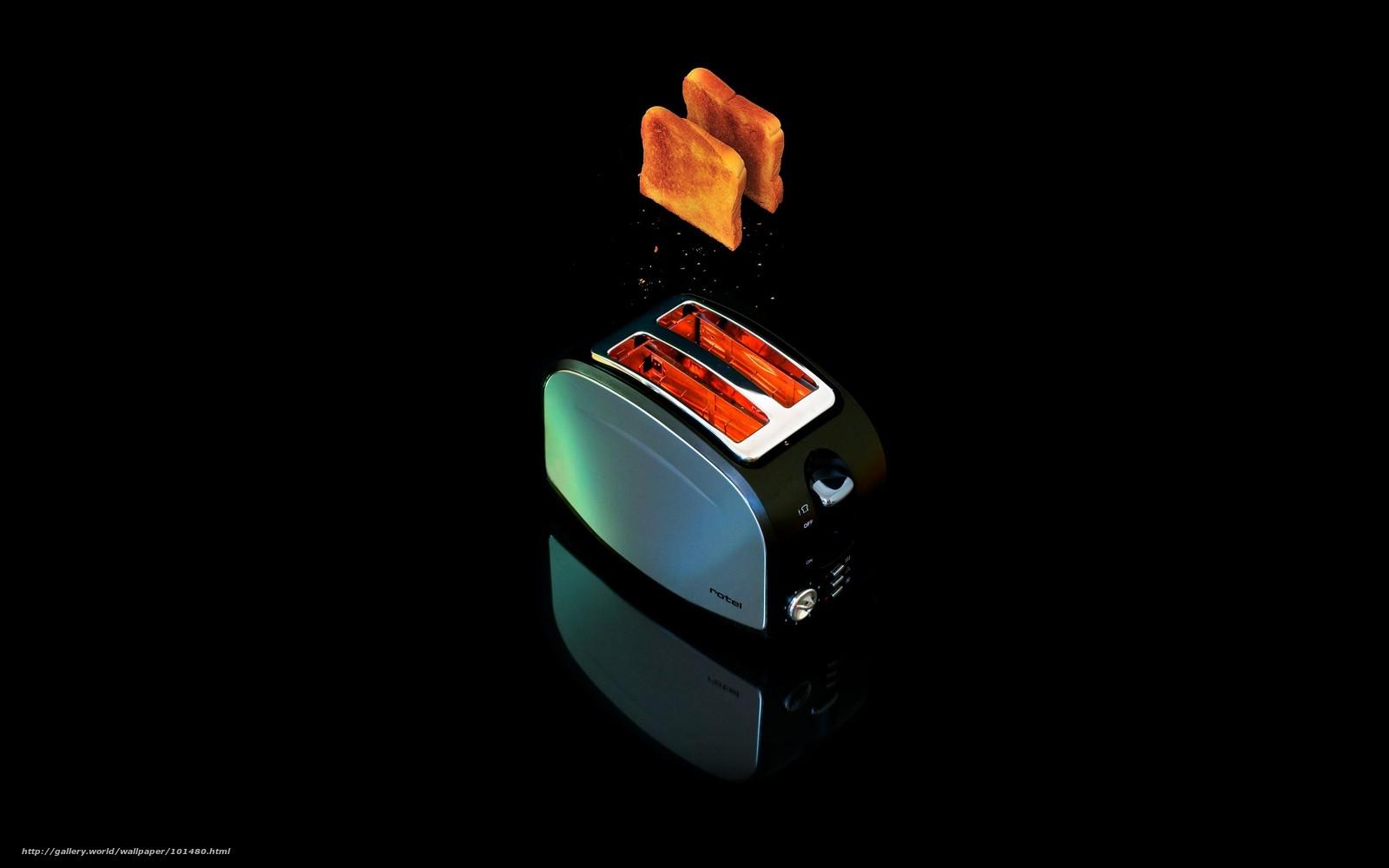 scaricare gli sfondi tostapane,  pane,  caduta Sfondi gratis per la risoluzione del desktop 2560x1600 — immagine №101480