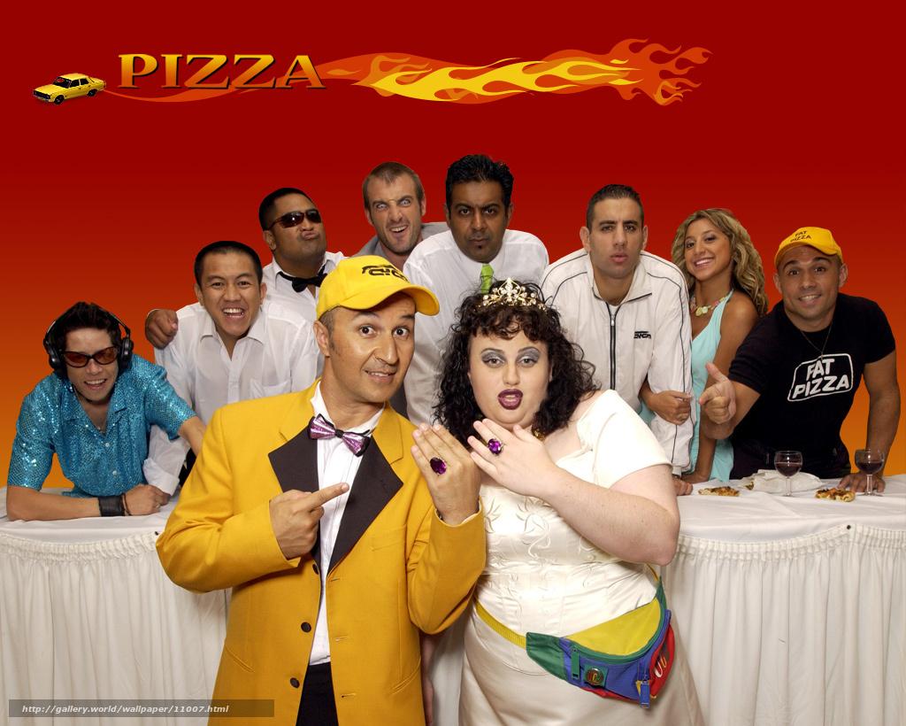 download wallpaper pizza delivery fat pizza film movies