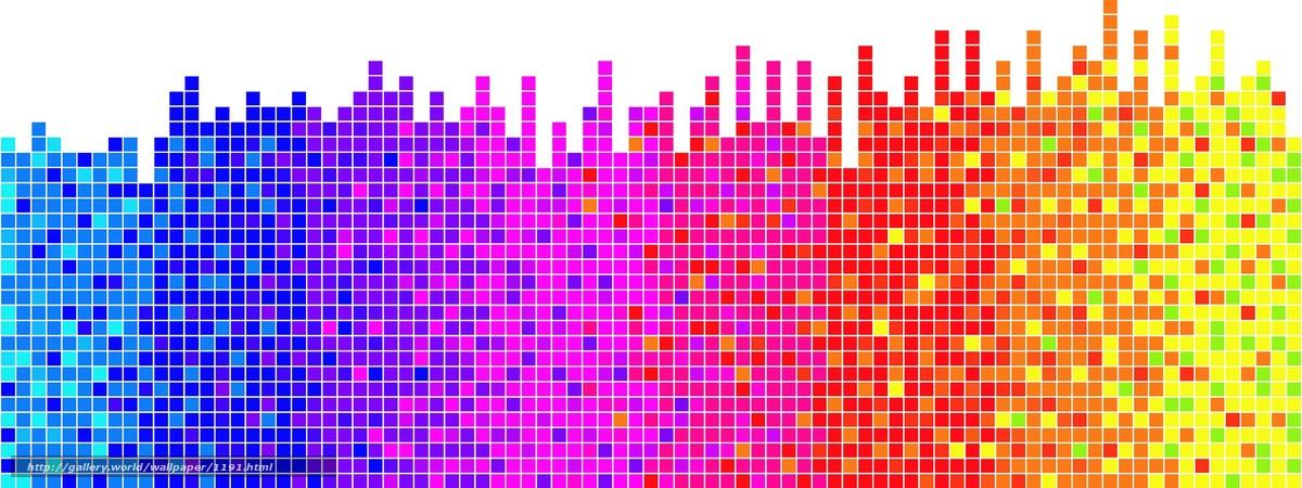 Descargar gratis ritmo,  visualizacin,  serie Fondos de escritorio en la resolucin 3200x1200 — imagen №1191