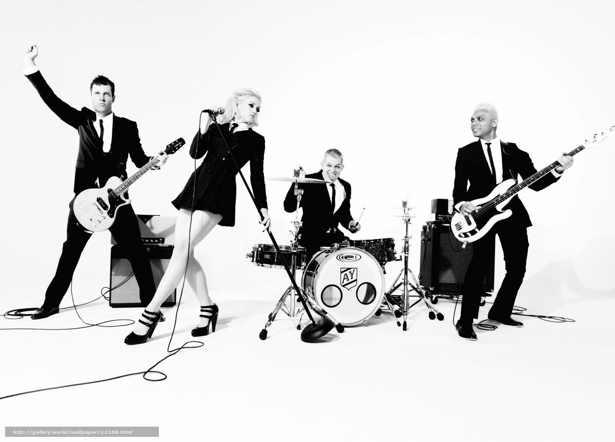 Scaricare Gli Sfondi Musica Gruppo Strumenti In Bianco E Nero