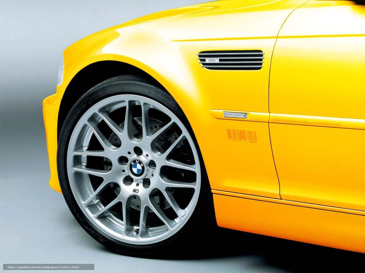 Tlcharger Fond d'ecran BMW,  jaune,  roue Fonds d'ecran gratuits pour votre rsolution du bureau 1600x1200 — image №12521