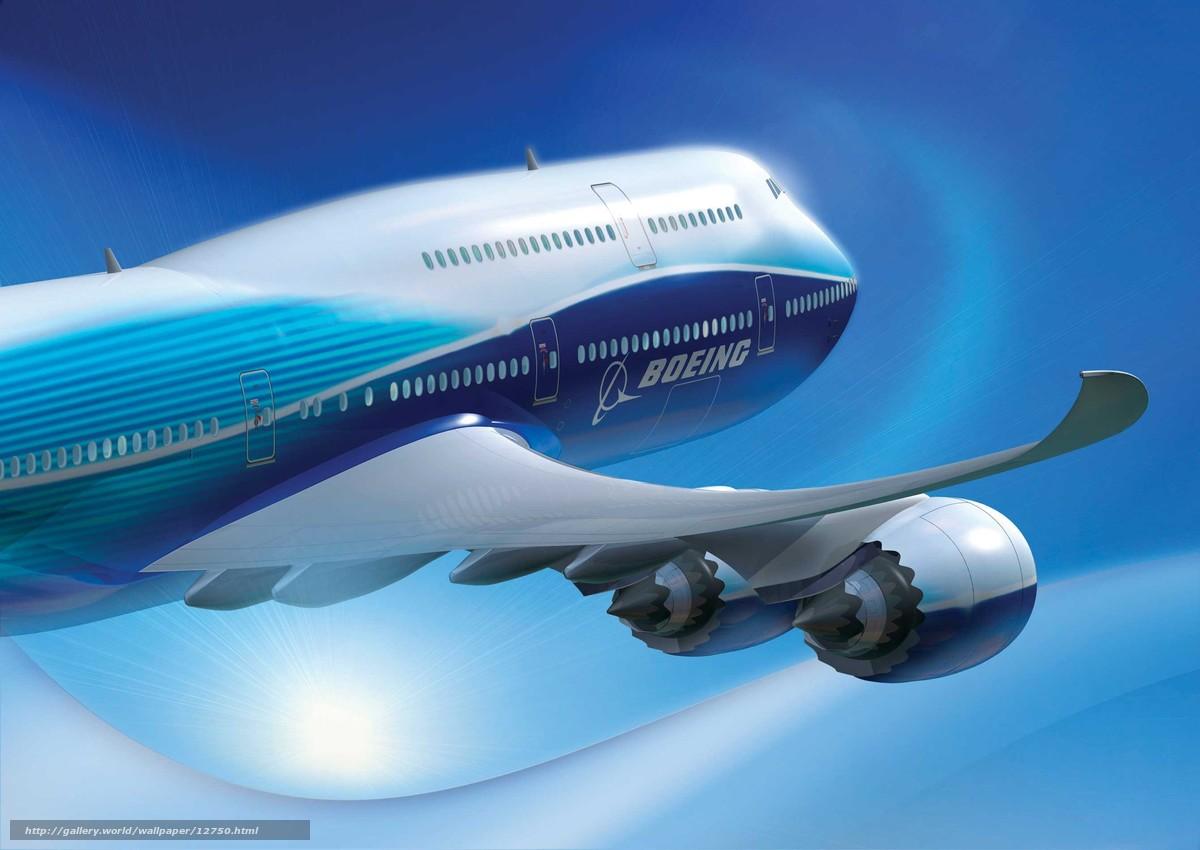 Скачать обои самолет бесплатно для рабочего стола в разрешении 2682x1900 — картинка №12750