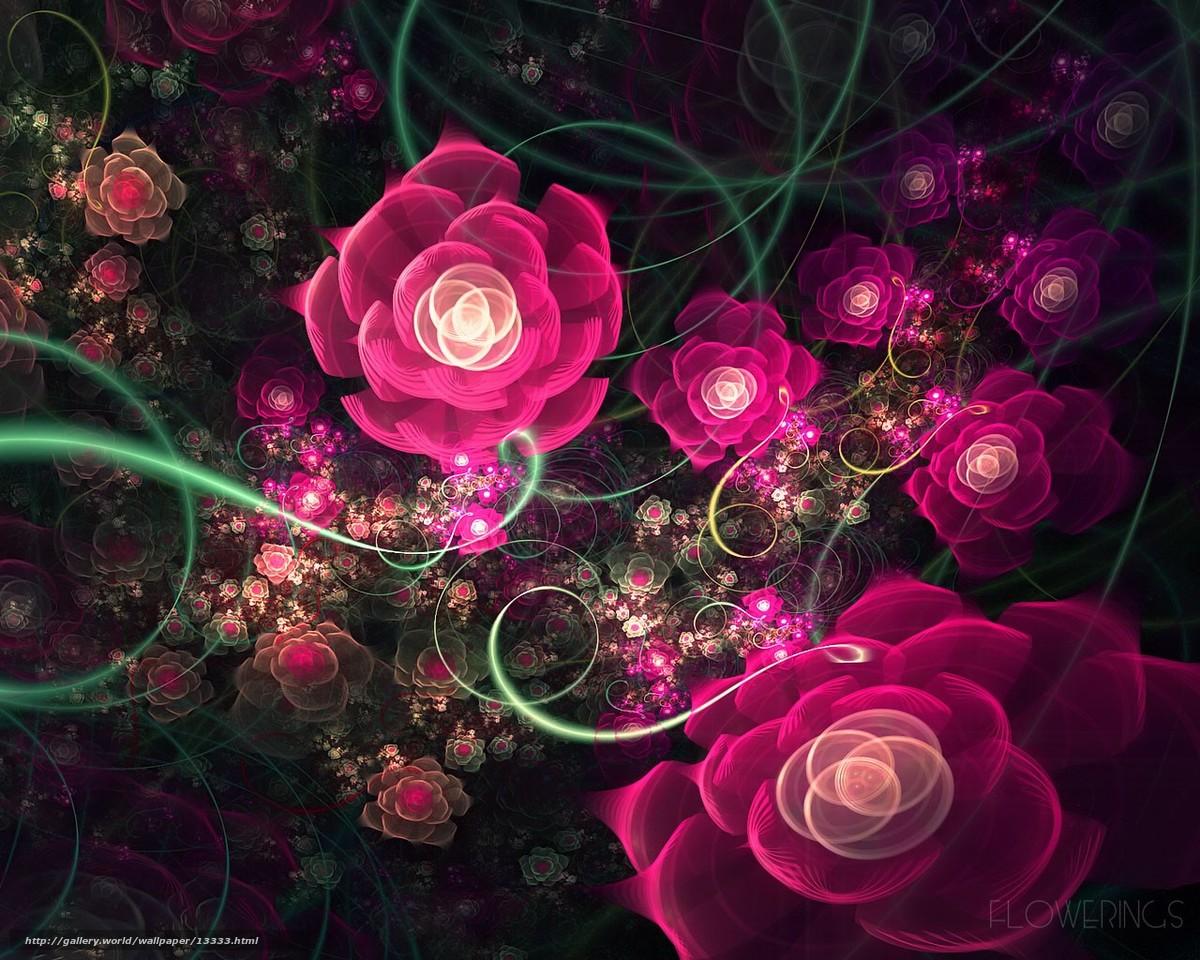 Descargar gratis patrn,  Rosa,  Fractales Fondos de escritorio en la resolucin 1280x1024 — imagen №13333