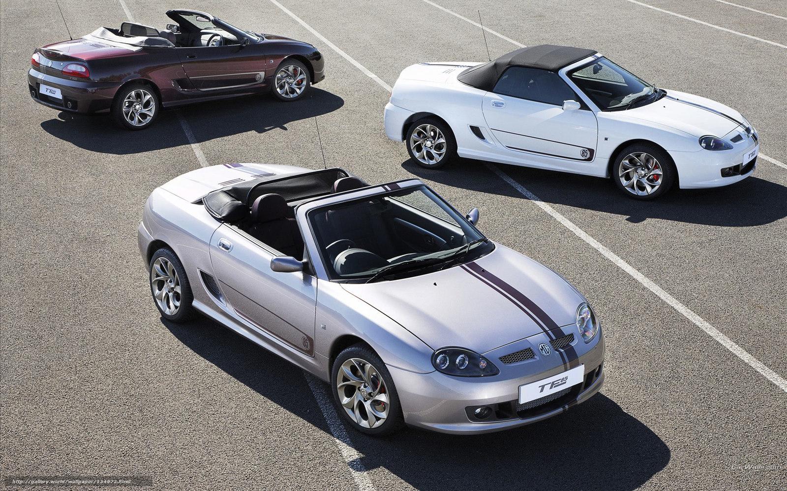 Скачать обои MG,  TF,  авто,  машины бесплатно для рабочего стола в разрешении 1920x1200 — картинка №134972