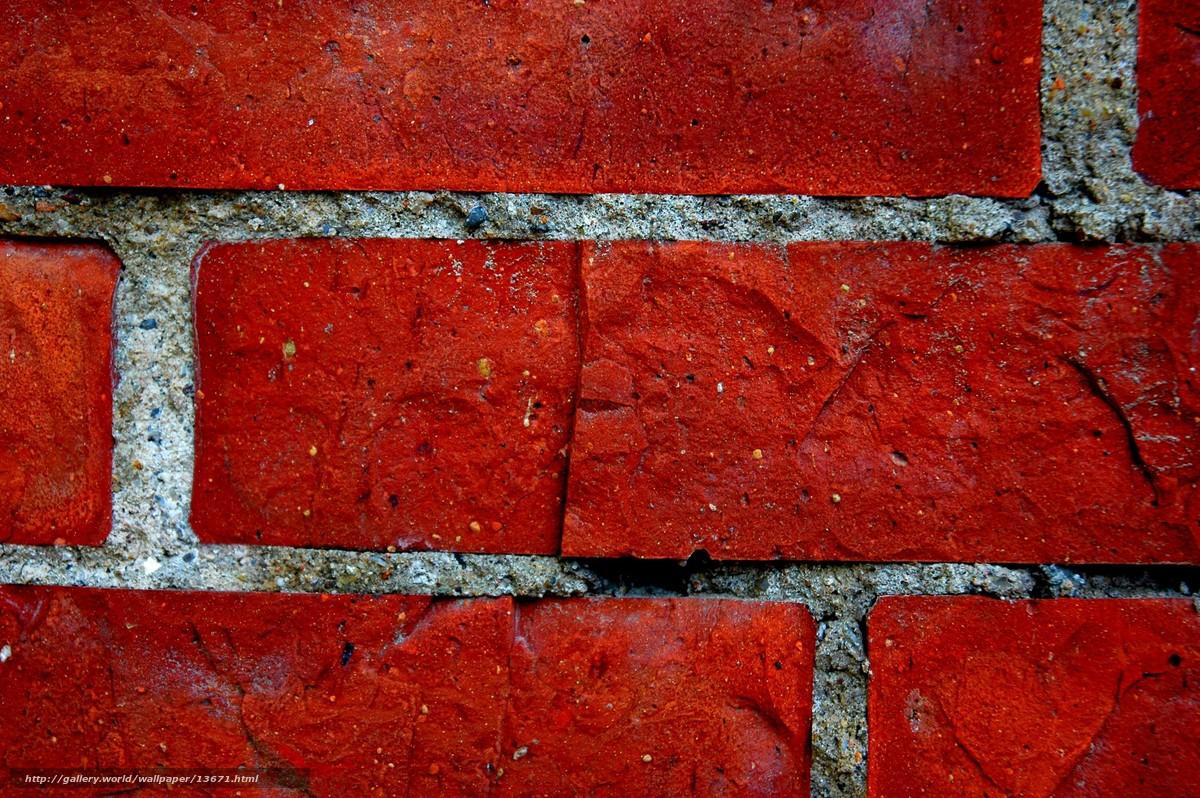 scaricare gli sfondi muro,  rosso,  mattone Sfondi gratis per la risoluzione del desktop 3008x2000 — immagine №13671