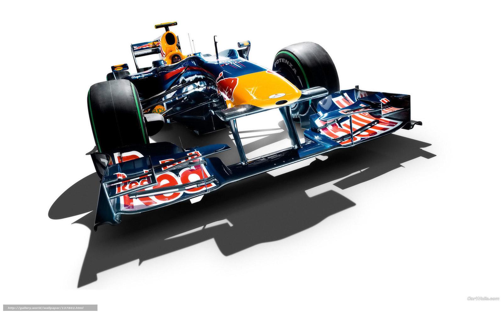 Скачать обои Red Bull,  F1,  авто,  машины бесплатно для рабочего стола в разрешении 1920x1200 — картинка №137802