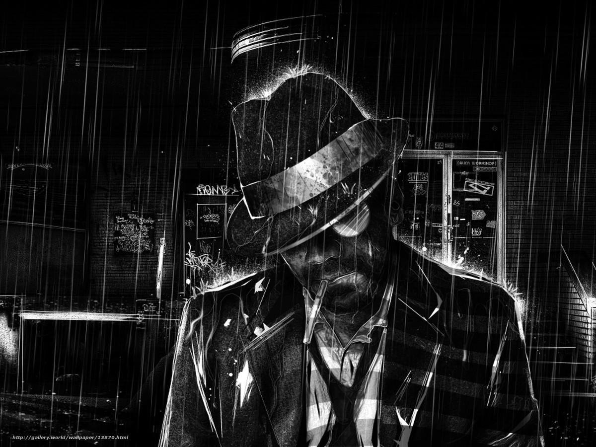 Tlcharger fond d 39 ecran noir et blanc dessin pluie - Dessin fond noir ...