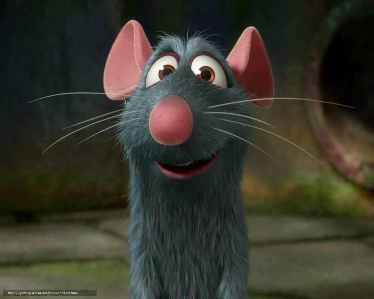 scaricare gli sfondi ratatouille,  mouse,  cartone animato Sfondi gratis per la risoluzione del desktop 1280x1024 — immagine №1390