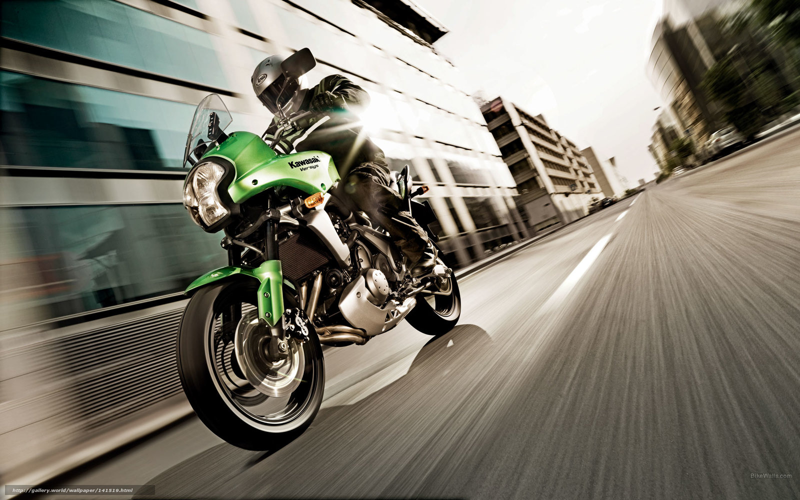 Download wallpaper Kawasaki,  Sports,  Versys,  Versys 2008 free desktop wallpaper in the resolution 1920x1200 — picture №141519