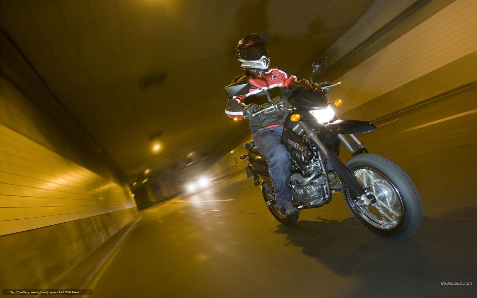 Download Wallpaper Kawasaki, Supermotard, D-Tracker, D