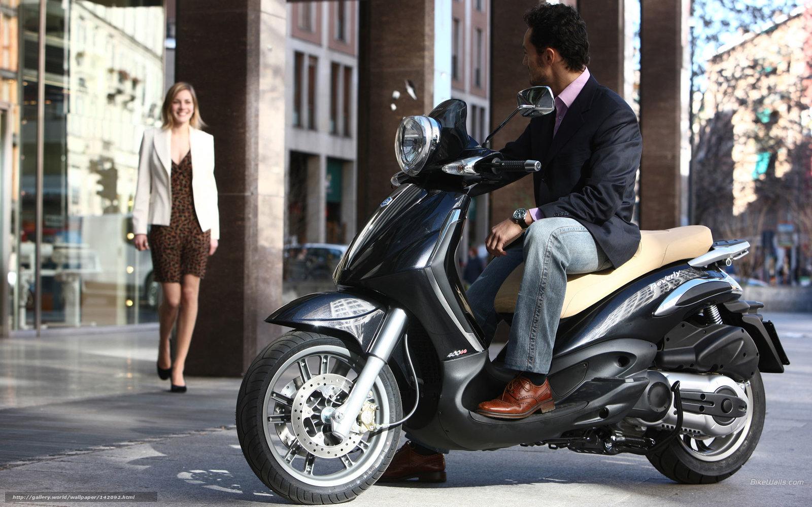Download Wallpaper Piaggio, Beverly, Moto, Motorcycles