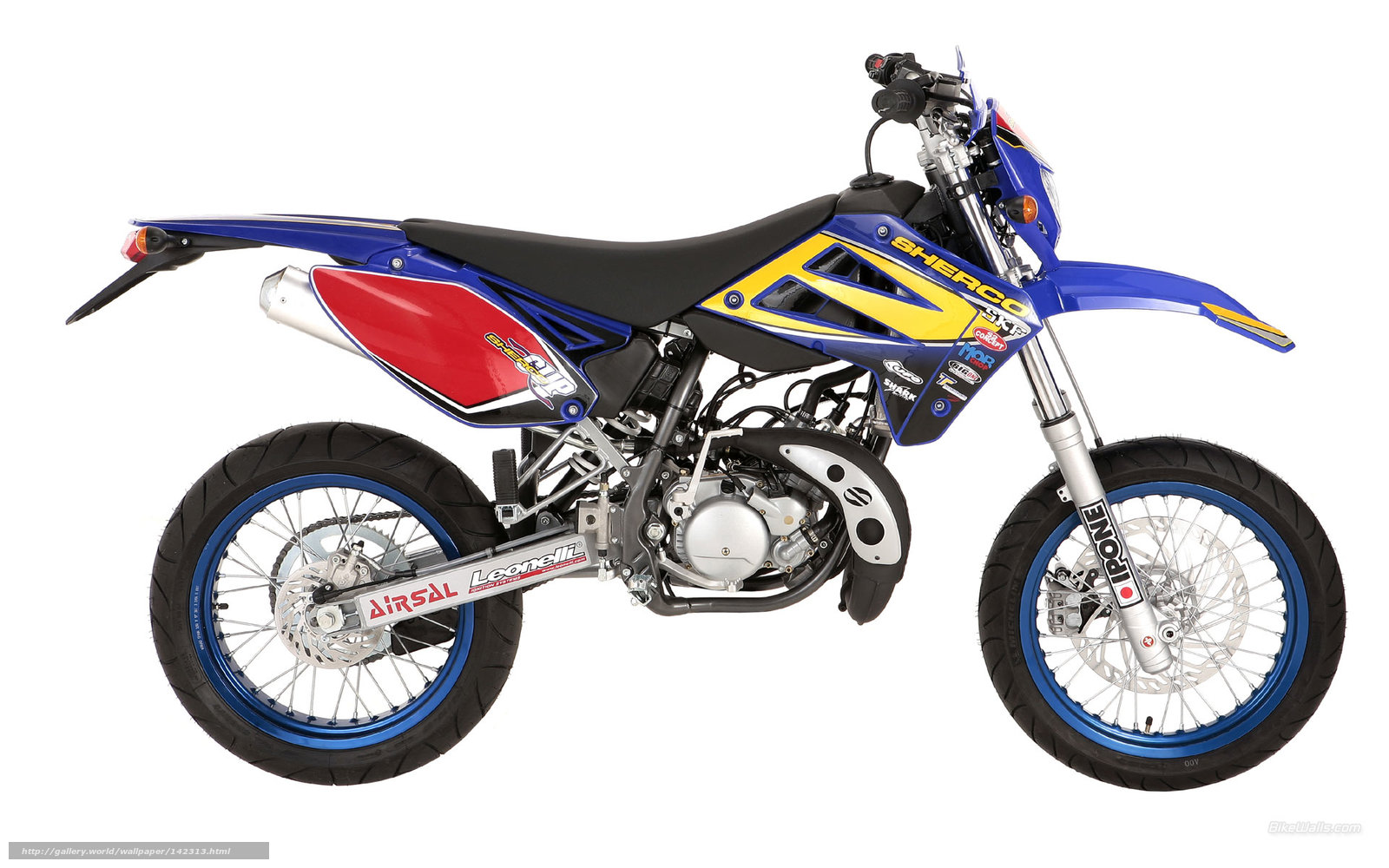 Download wallpaper Sherco, Supermotard, 50cc SM, 50cc SM ...