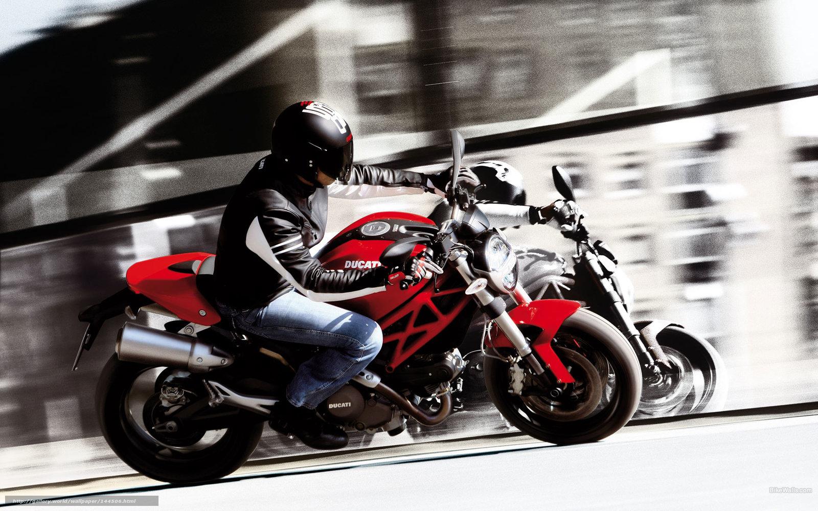 Download wallpaper Ducati,  Monster,  Monster 696,  Monster 696 2008 free desktop wallpaper in the resolution 1920x1200 — picture №144506
