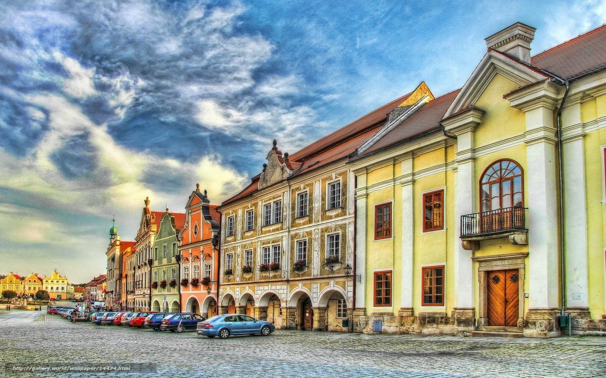 Download wallpaper telch,  Czech Republic,  home free desktop wallpaper in the resolution 1920x1200 — picture №14474