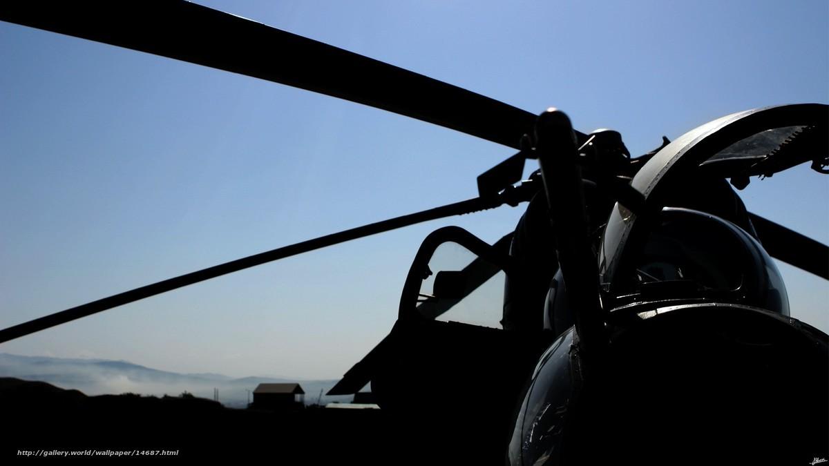 Скачать обои вертолет,  авиация бесплатно для рабочего стола в разрешении 1920x1080 — картинка №14687