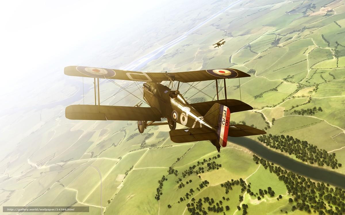 Скачать обои самолет,  полет бесплатно для рабочего стола в разрешении 1920x1200 — картинка №14766