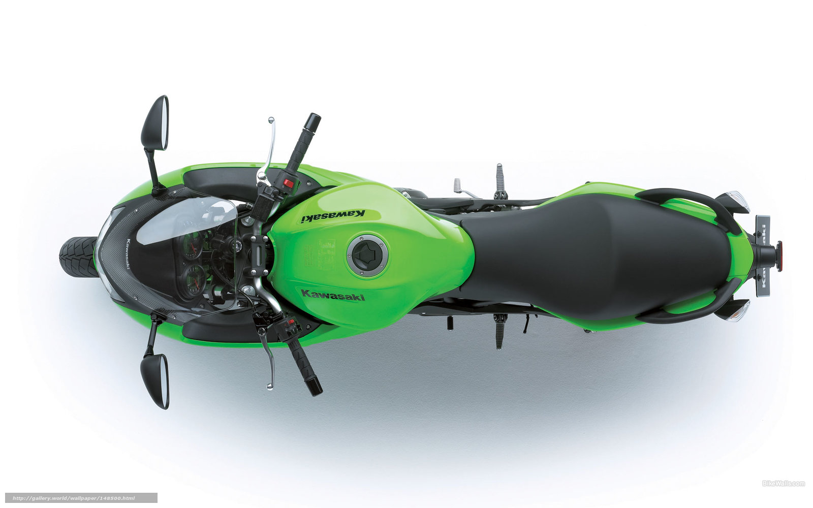Скачать обои Kawasaki,  Sports,  ER-6F,  ER-6F 2008 бесплатно для рабочего стола в разрешении 1920x1200 — картинка №148500