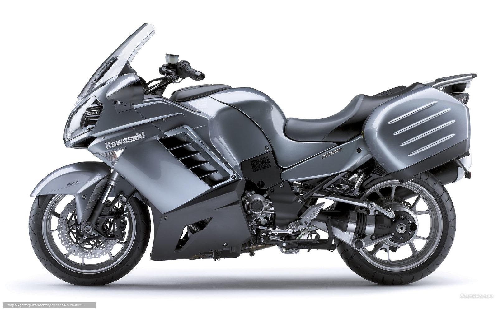 scaricare gli sfondi Kawasaki,  Tourer,  1400 GTR,  1400 GTR 2008 Sfondi gratis per la risoluzione del desktop 1920x1200 — immagine №148546