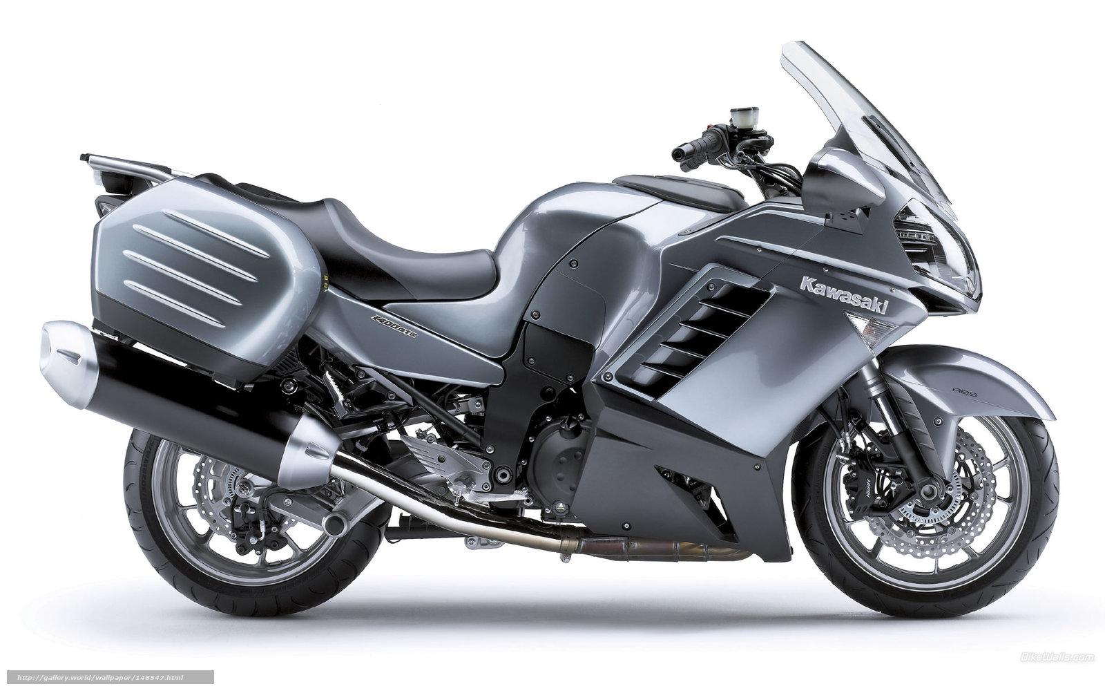 scaricare gli sfondi Kawasaki,  Tourer,  1400 GTR,  1400 GTR 2008 Sfondi gratis per la risoluzione del desktop 1920x1200 — immagine №148547