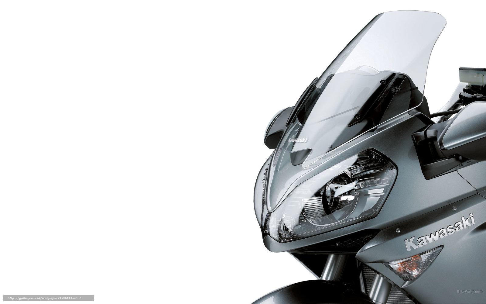 scaricare gli sfondi Kawasaki,  Tourer,  1400 GTR,  1400 GTR 2009 Sfondi gratis per la risoluzione del desktop 1920x1200 — immagine №148635