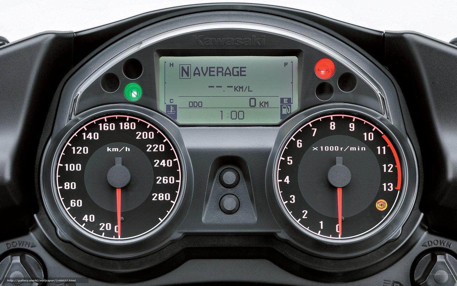 scaricare gli sfondi Kawasaki,  Tourer,  1400 GTR,  1400 GTR 2009 Sfondi gratis per la risoluzione del desktop 1920x1200 — immagine №148637