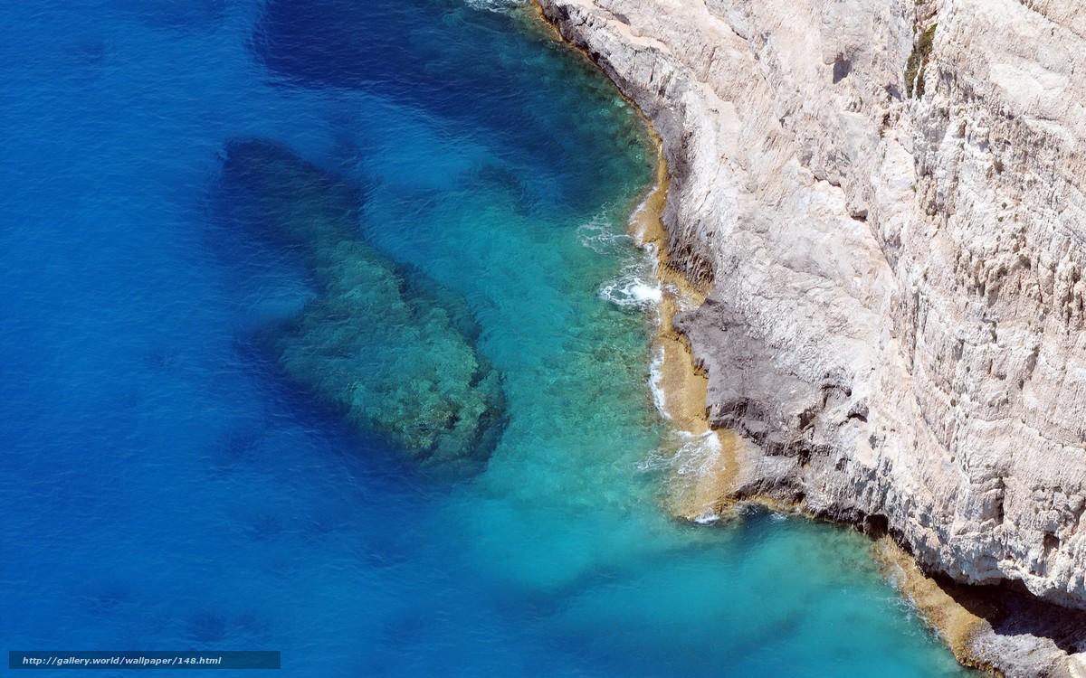 scaricare gli sfondi paesaggio,  onde,  mare,  rock Sfondi gratis per la risoluzione del desktop 1920x1200 — immagine №148