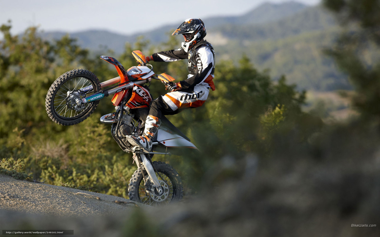 Download Wallpaper Ktm Offroad 125 Exc 125 Exc 2010 Free Desktop