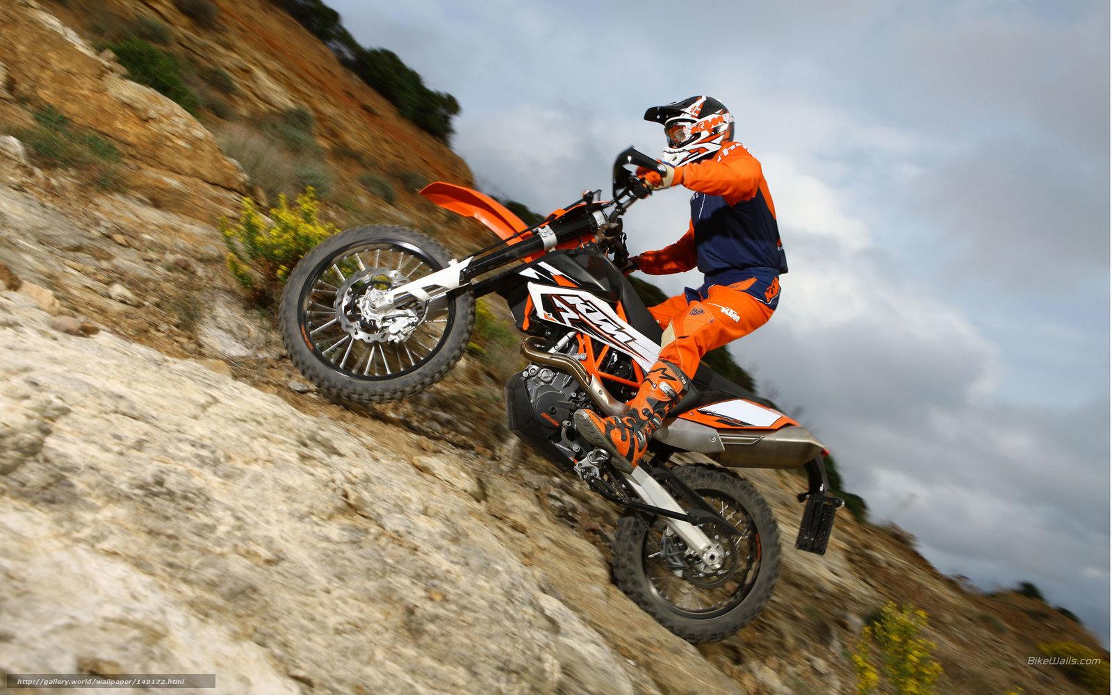 Tlcharger Fond d'ecran KTM, Offroad, 690 Enduro R, 690 Enduro R 2009 Fonds d'ecran gratuits pour ...
