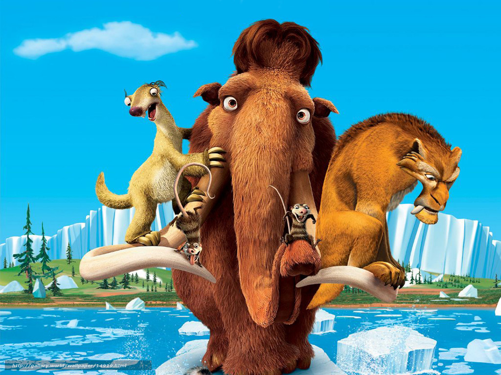 Blu-ray disc dvd ice age 2: the meltdown compact disc ice age.
