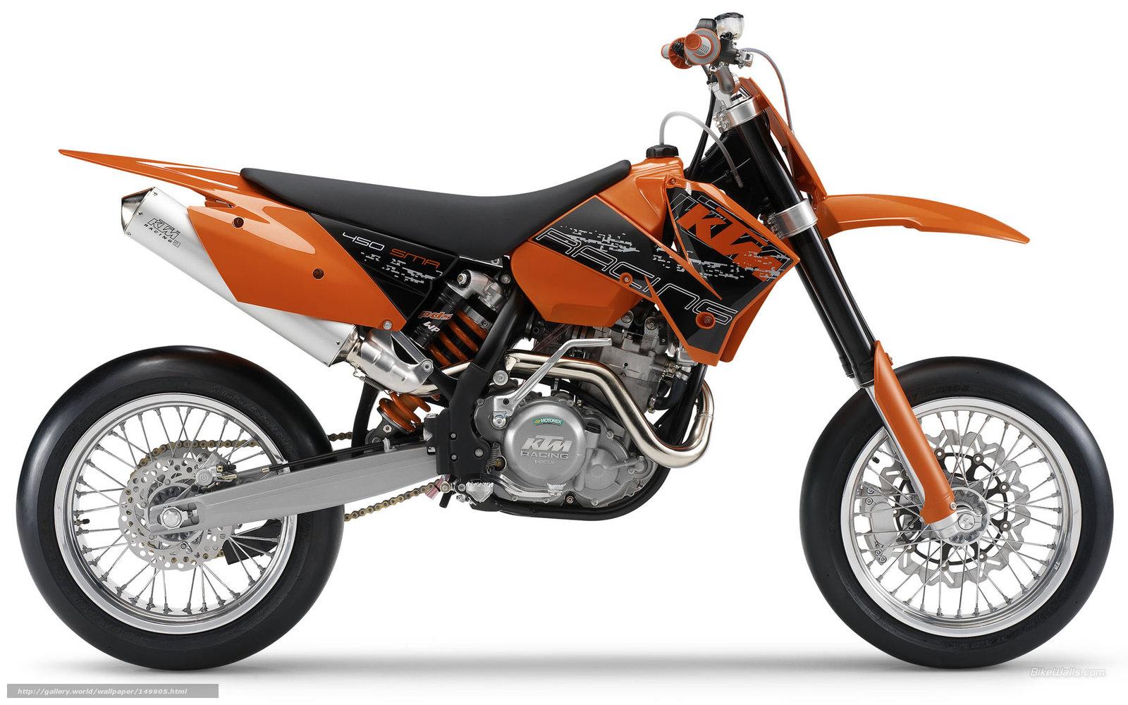 Tlcharger Fond d'ecran KTM, Supermoto, 450 SMR, SMR 450 2006 Fonds d'ecran gratuits pour votre ...