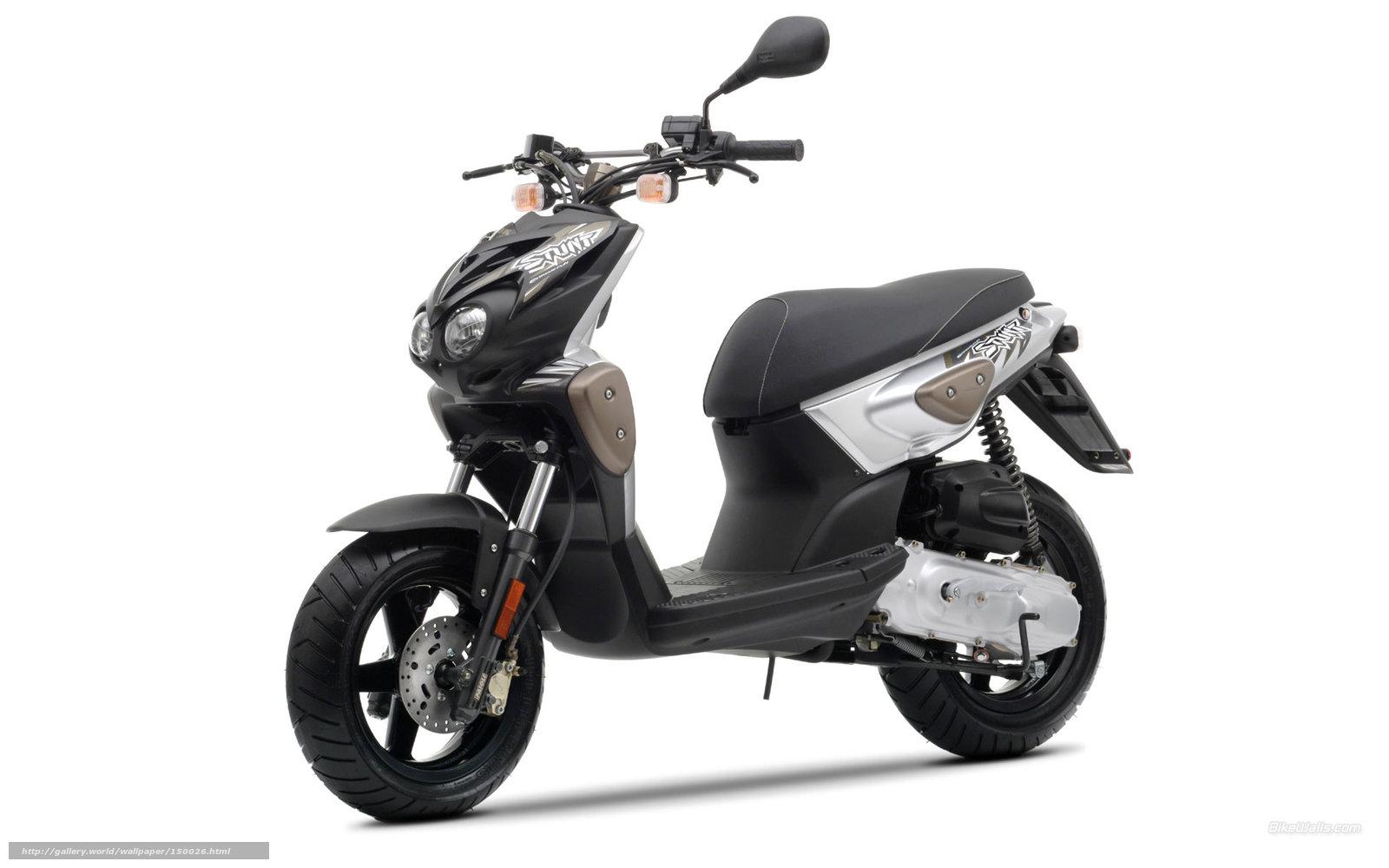 moto scooter fond d'ecran