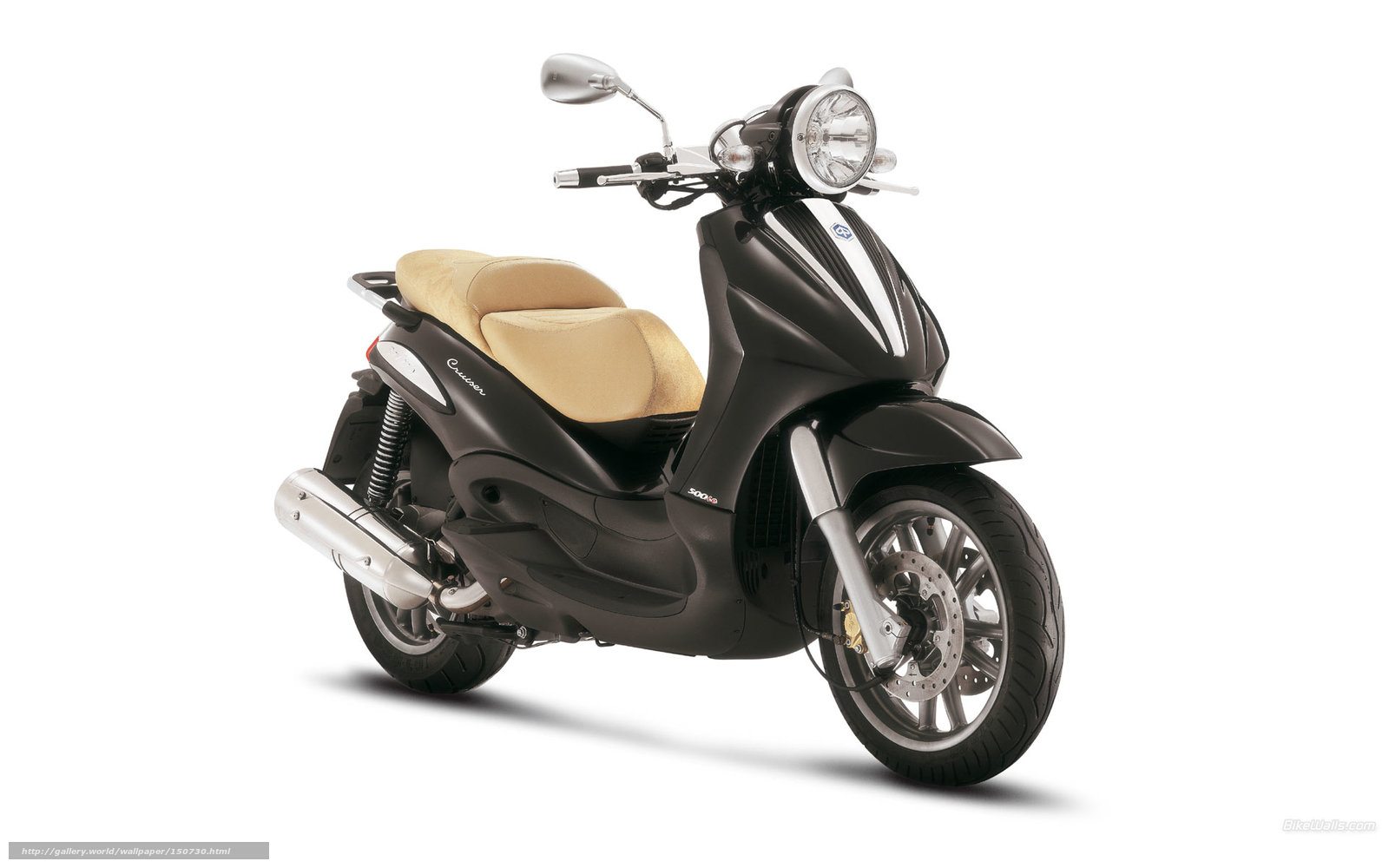 Download Wallpaper Piaggio, Beverly, Beverly Cruiser 500