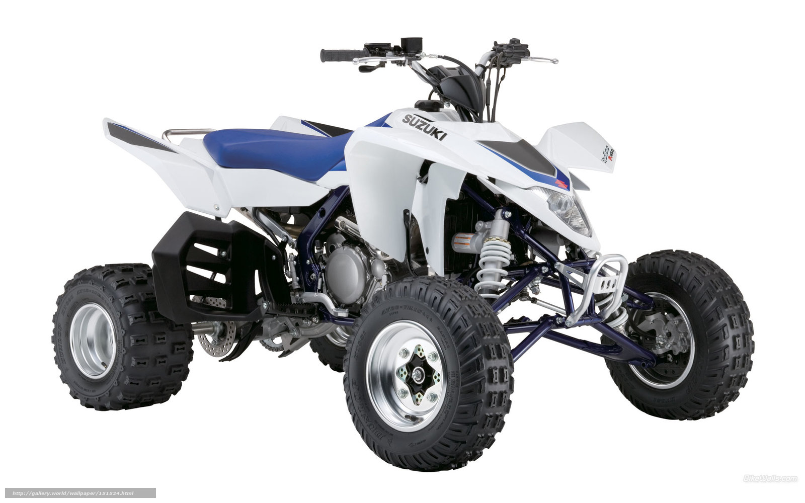 scaricare gli sfondi Suzuki,  ATV,  LTR-450,  LTR-450 2006 Sfondi gratis per la risoluzione del desktop 1920x1200 — immagine №151524