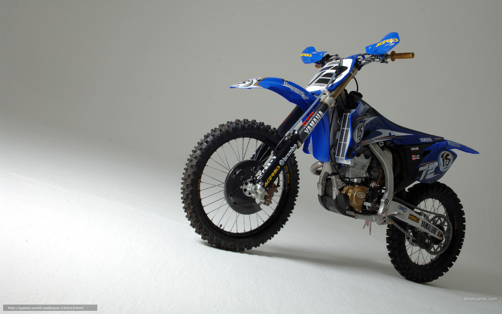 Download Wallpaper Yamaha Motocross YZ450F 2006 Free Desktop In The Resolution 1920x1200 Picture No153510