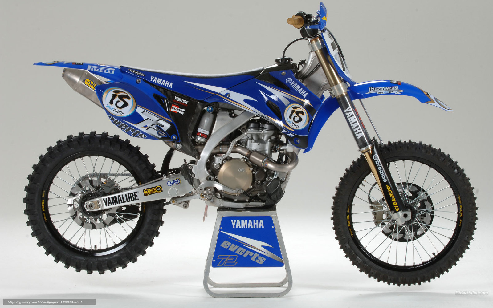 Download Wallpaper Yamaha Motocross YZ450F 2006 Free Desktop In The Resolution 1920x1200 Picture No153513