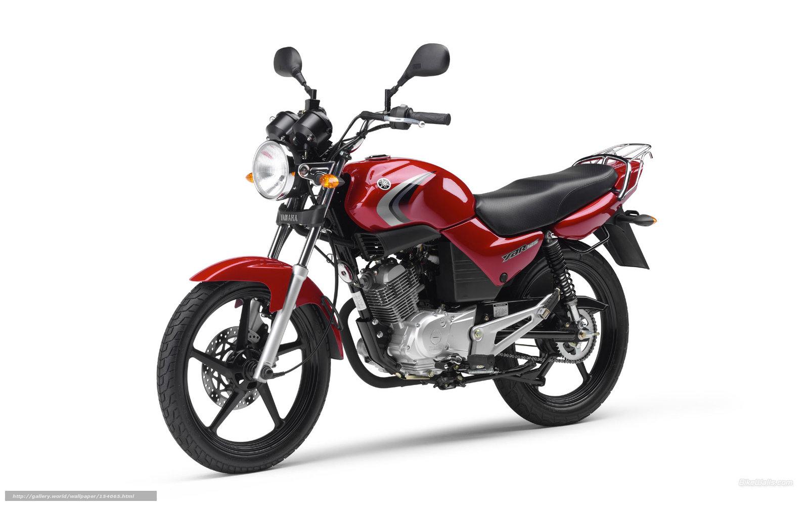 Download Wallpaper Yamaha, Sport Roadster, YBR 125, YBR