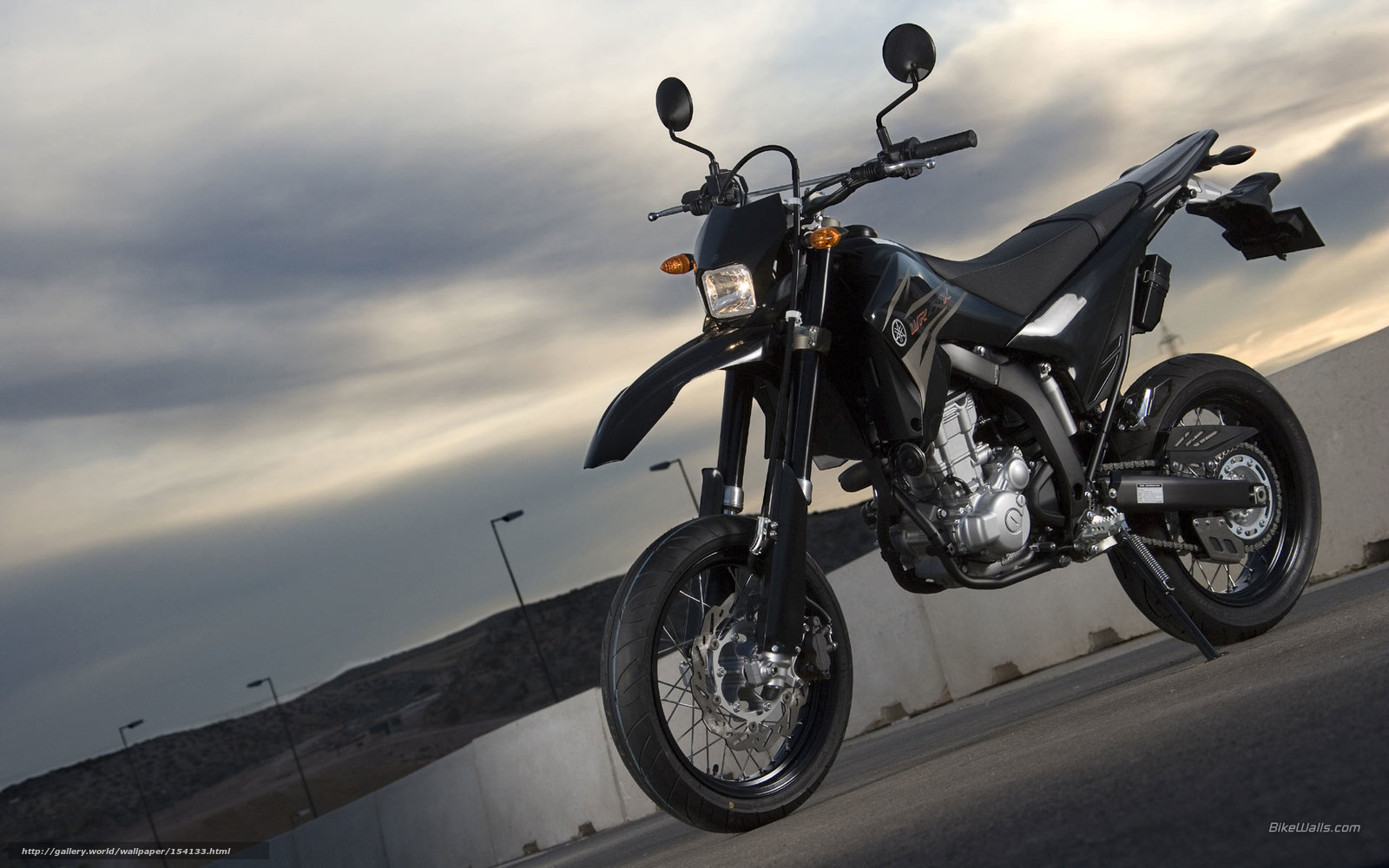 Download Wallpaper Yamaha, Sport Roadster, WR250X, WR250X