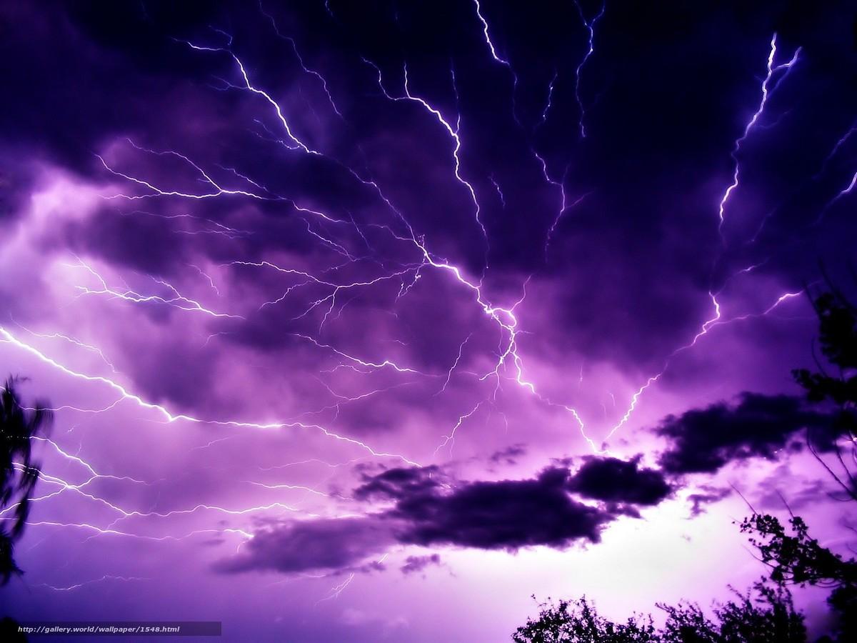 Descargar gratis relmpago,  tormenta,  las nubes Fondos de escritorio en la resolucin 1600x1200 — imagen №1548