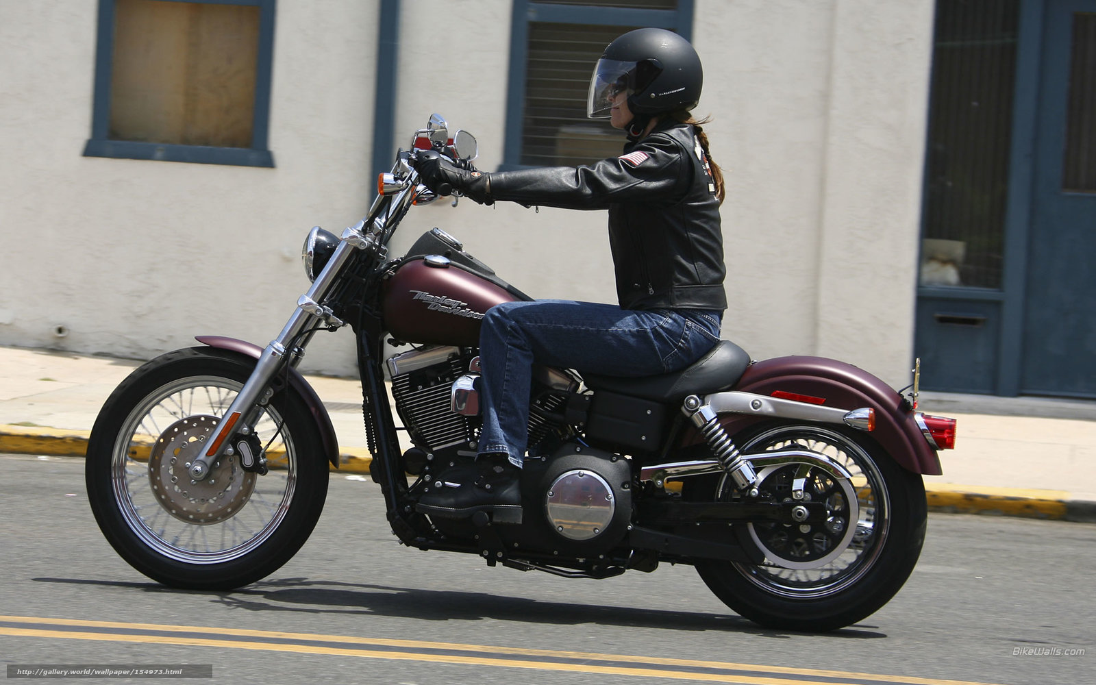 Download Wallpaper Harley-Davidson, Dyna, FXDB Dyna Street