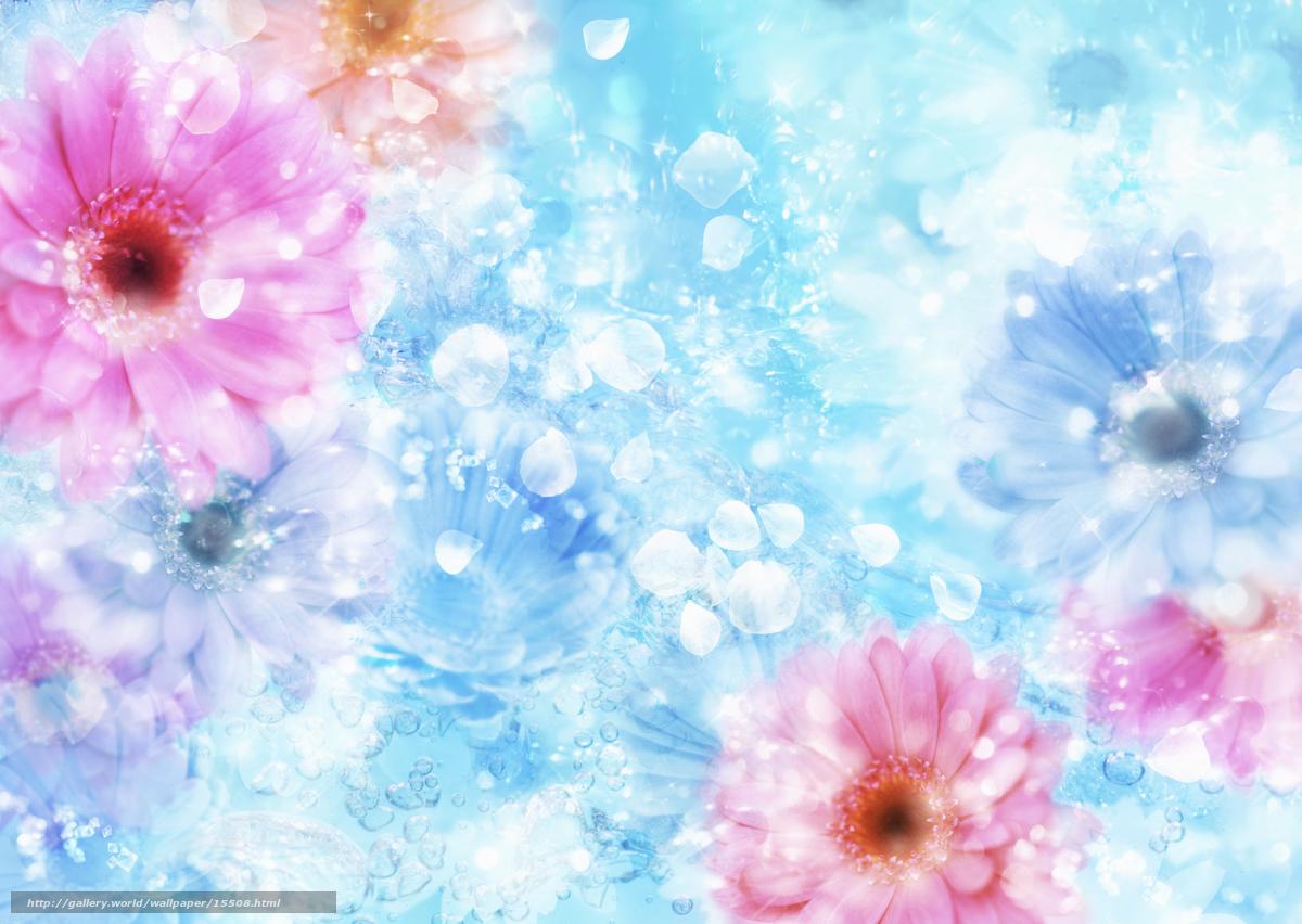 Baixar Wallpaper flor,  gua,  reflexo Papis de parede grtis na resoluo 2950x2094 — quadro №15508