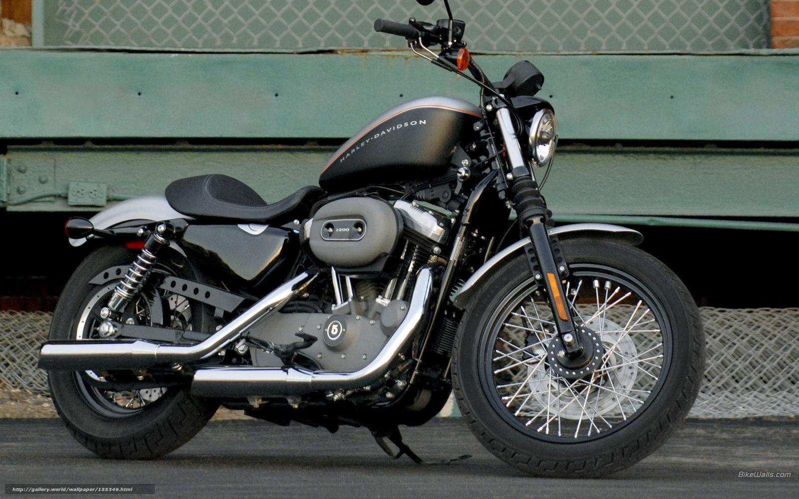 Harley Davidson: Tlcharger Fond D'ecran Harley-Davidson, Sportster, XL1200N