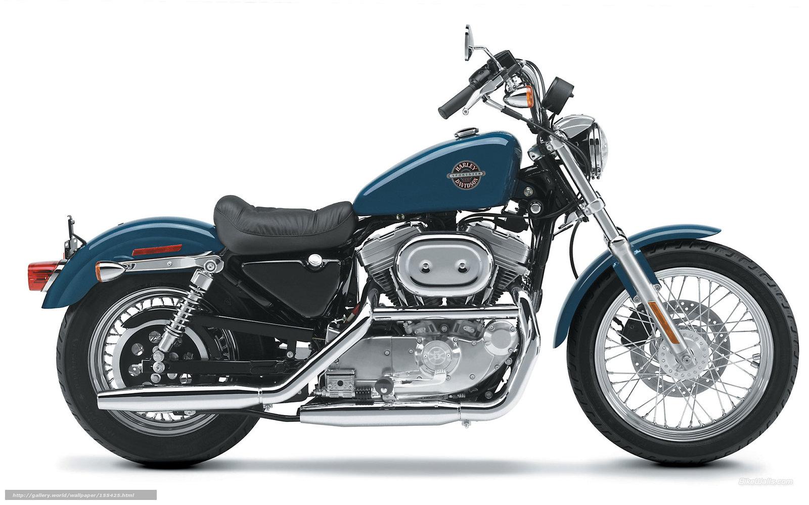 Download Hintergrund Harley-Davidson,  Sportster,  XLH 883 Sportster Hugger 883,  XLH 883 Sportster Hugger 883 2002 Freie desktop Tapeten in der Auflosung 1920x1200 — bild №155425