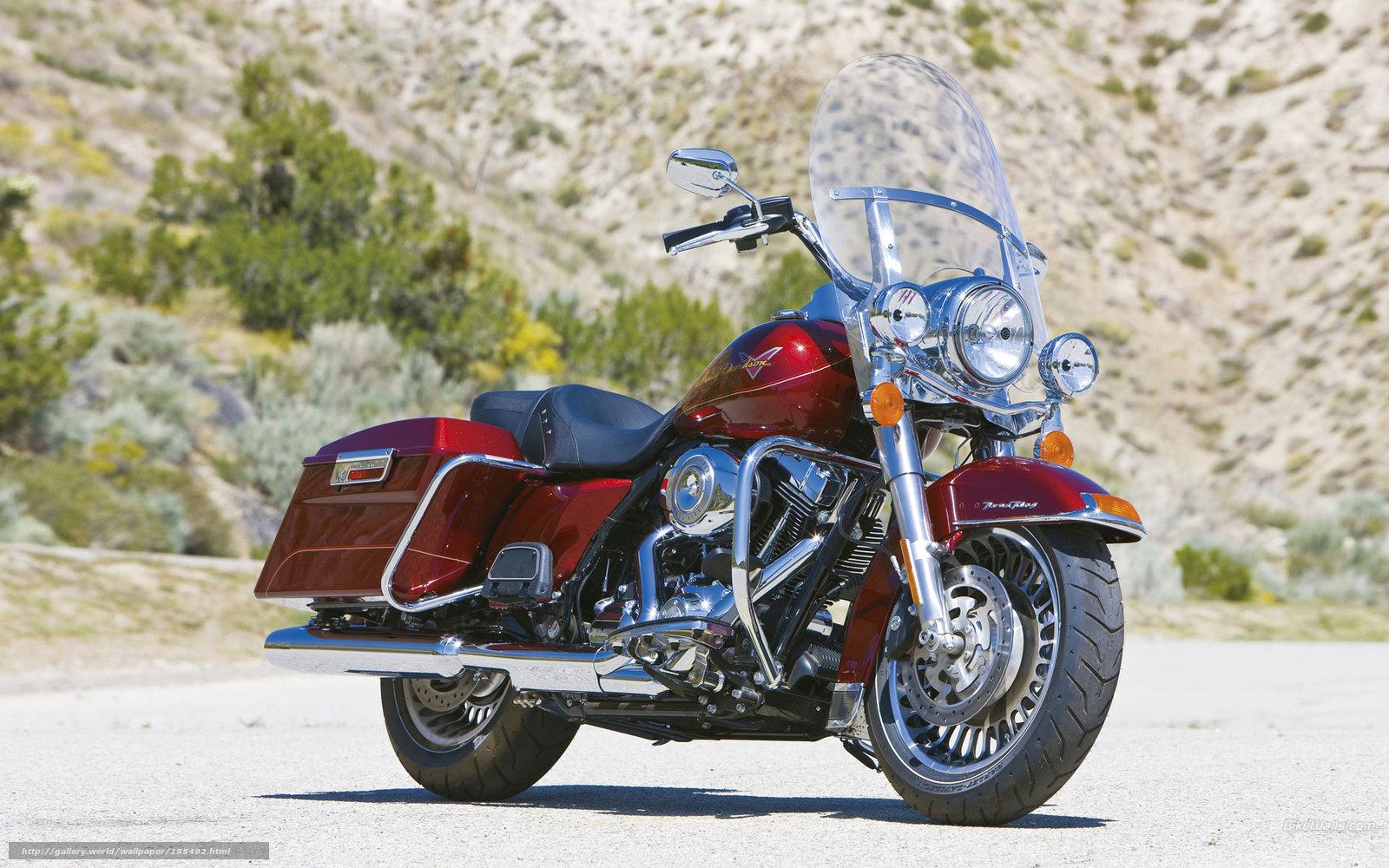 Download Wallpaper Harley-Davidson, Touring, FLHR Road