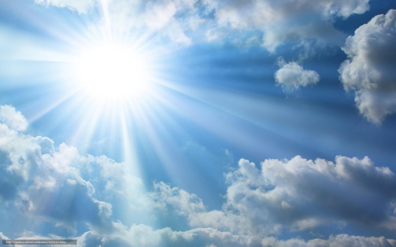 tlcharger fond d 39 ecran ciel soleil nuages rayons fonds d 39 ecran gratuits pour votre rsolution. Black Bedroom Furniture Sets. Home Design Ideas