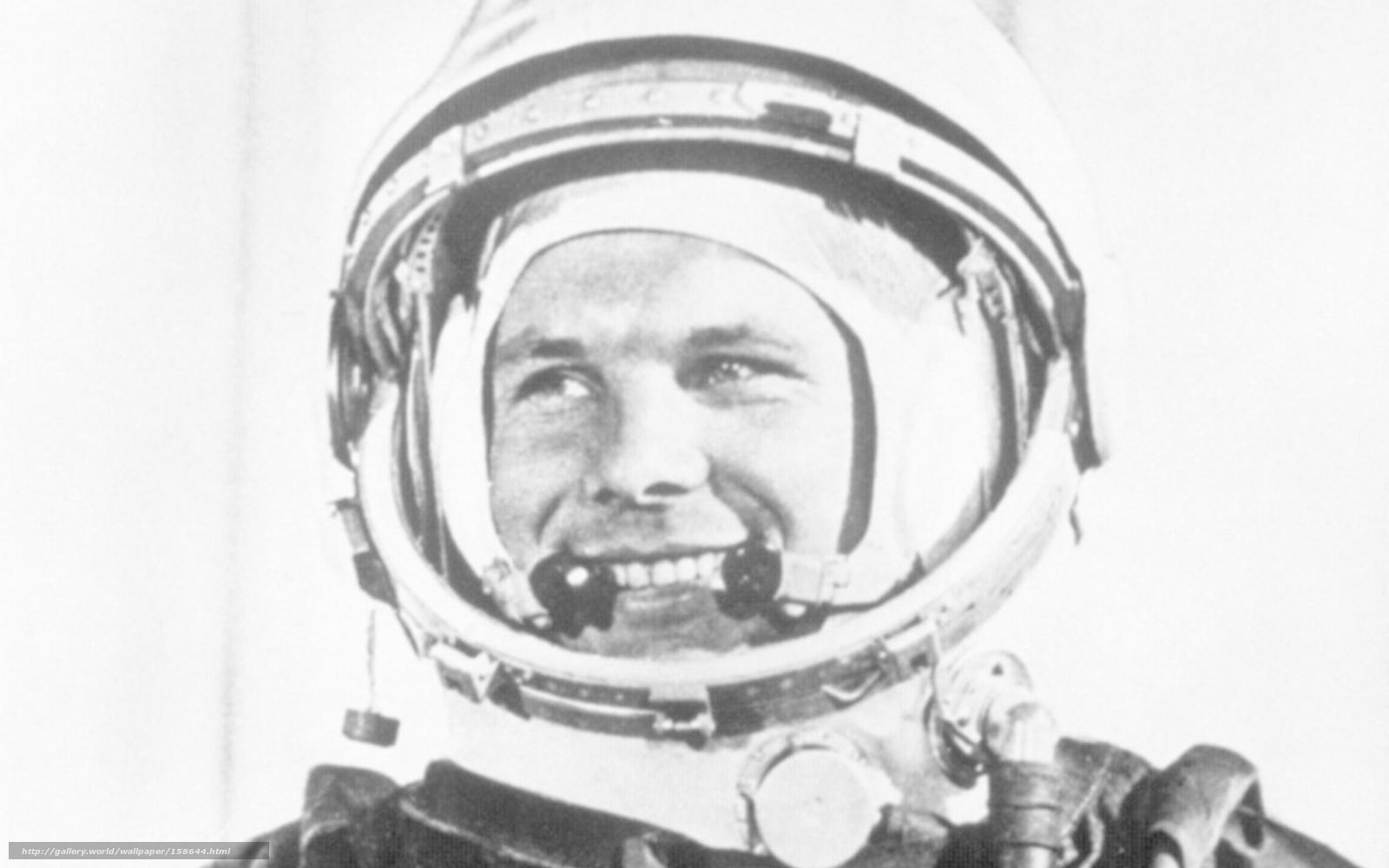 Скачать обои юрий алексеевич гагарин,  первый космонавт,  ссср,  великие люди бесплатно для рабочего стола в разрешении 1920x1200 — картинка №158644