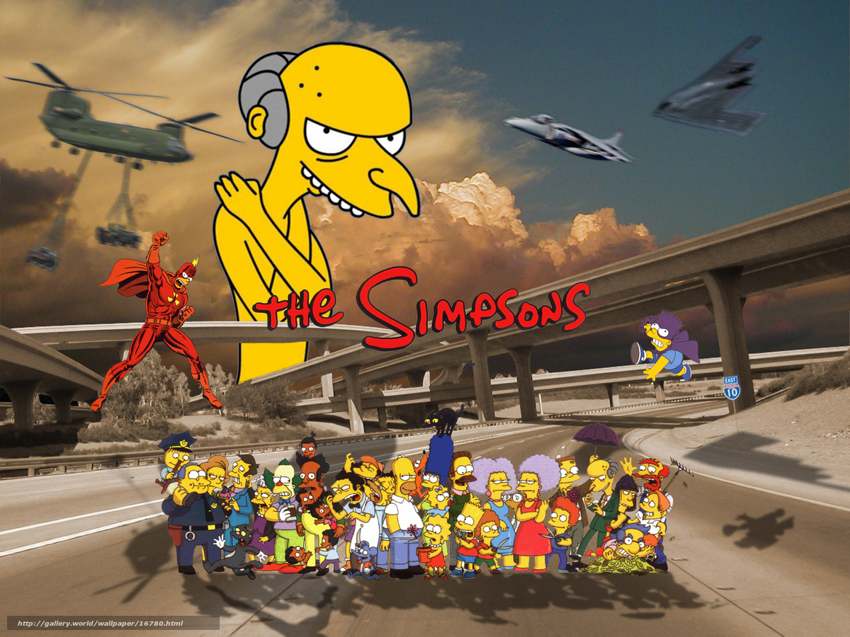 simpson wallpaper