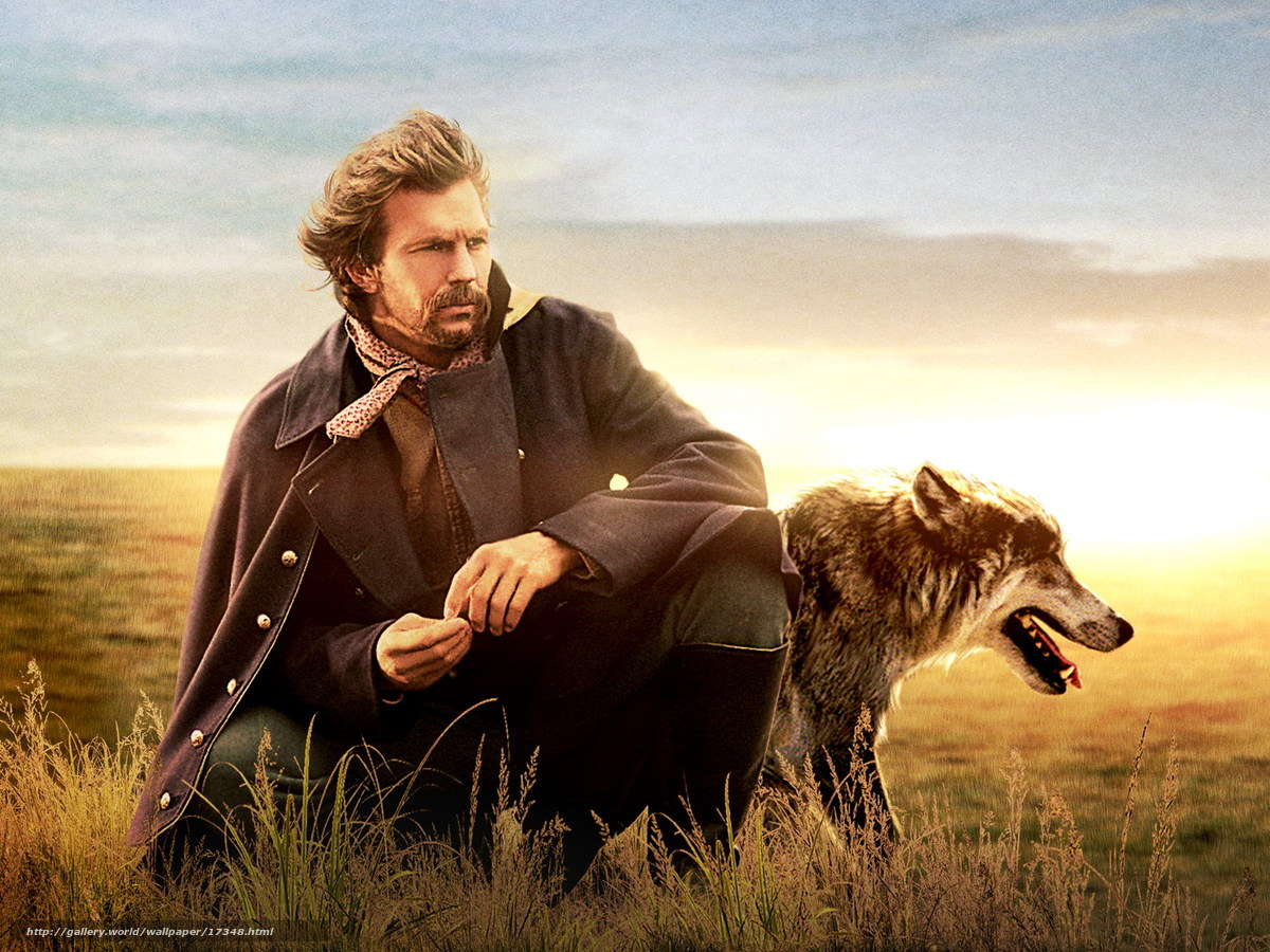 Download wallpaper Танцующий с волками,  Dances with Wolves,  film,  movies free desktop wallpaper in the resolution 1600x1200 — picture №17348