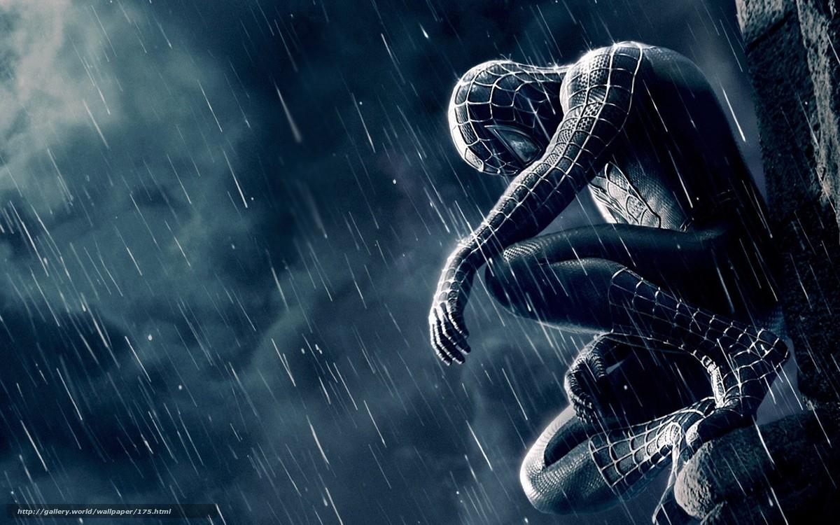 scaricare gli sfondi Spiderman,  film,  uomo ragno,  solitudine Sfondi gratis per la risoluzione del desktop 1440x900 — immagine №175