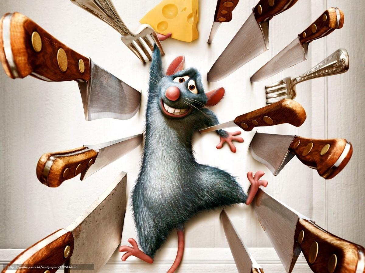 scaricare gli sfondi ratatouille,  mouse,  cartone animato Sfondi gratis per la risoluzione del desktop 1600x1200 — immagine №1820